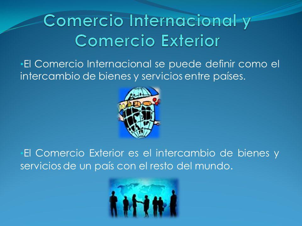 Comercio Internacional Y Comercio Exterior