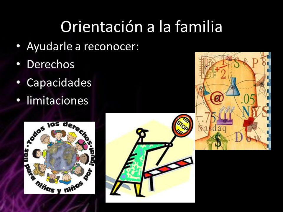 Orientación a la familia