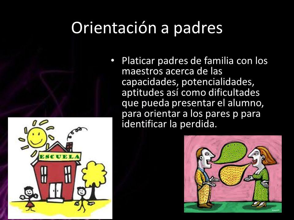 Orientación a padres