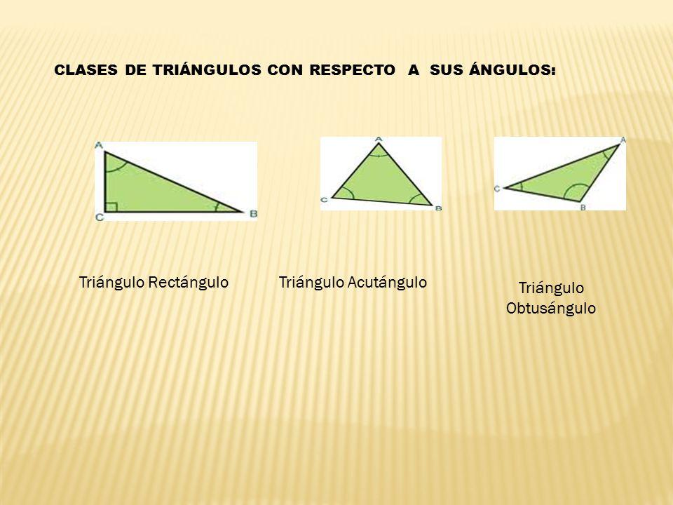Triángulo Obtusángulo
