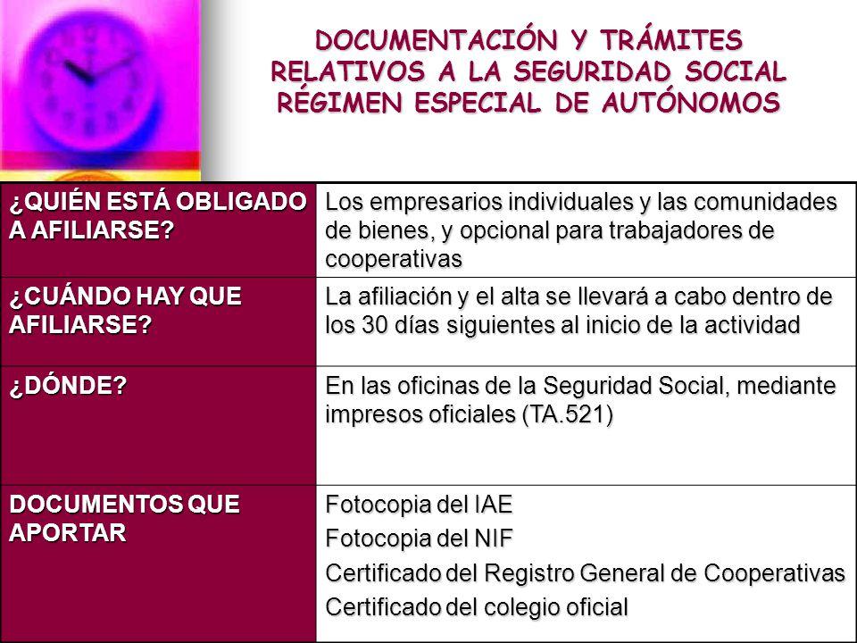 Obligaciones del empresario en la contrataci n ppt video for Oficina de seguridad social en barcelona