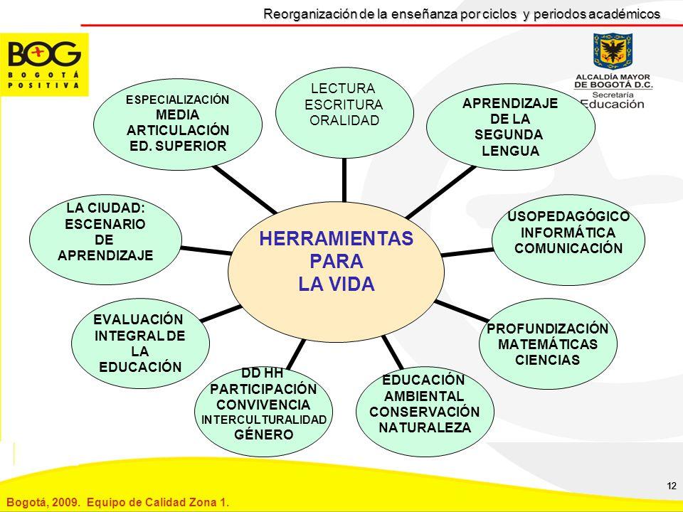 Reorganización de la enseñanza por ciclos y periodos académicos