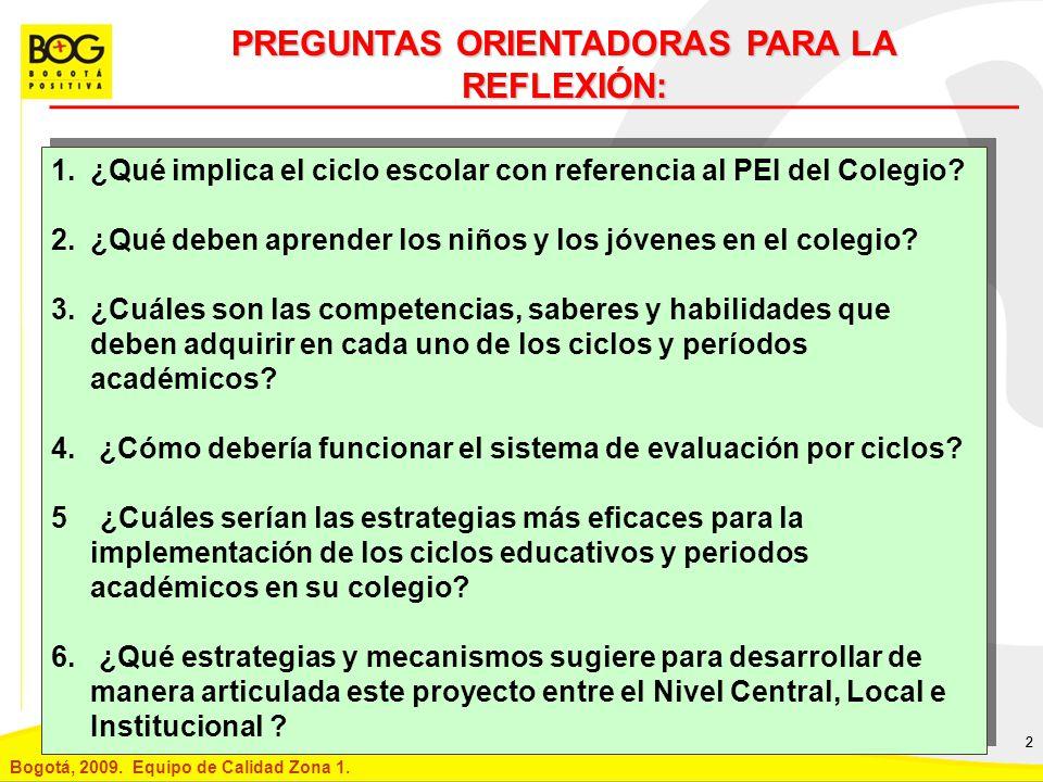 PREGUNTAS ORIENTADORAS PARA LA REFLEXIÓN: