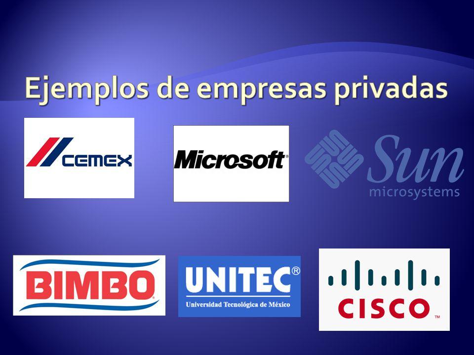 Tipos De Empresas Y Organizaciones Las Empresas Y Su