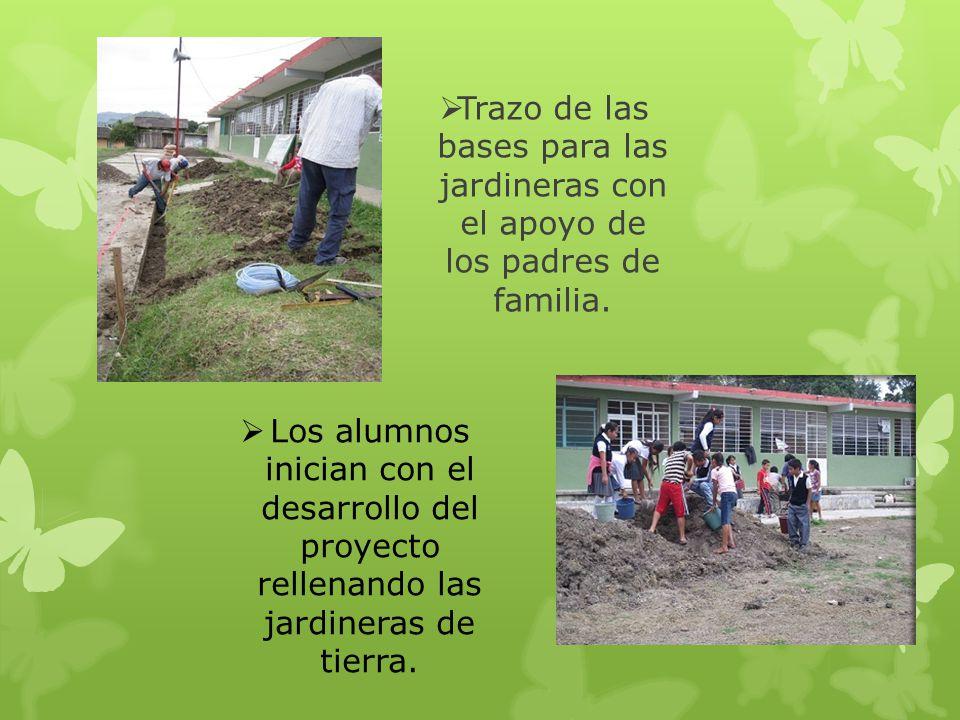 Proyecto embellecemos nuestra escuela ppt descargar for Bases para jardineras