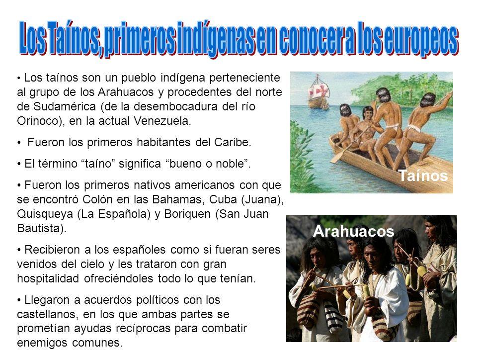 Los Taínos, primeros indígenas en conocer a los europeos