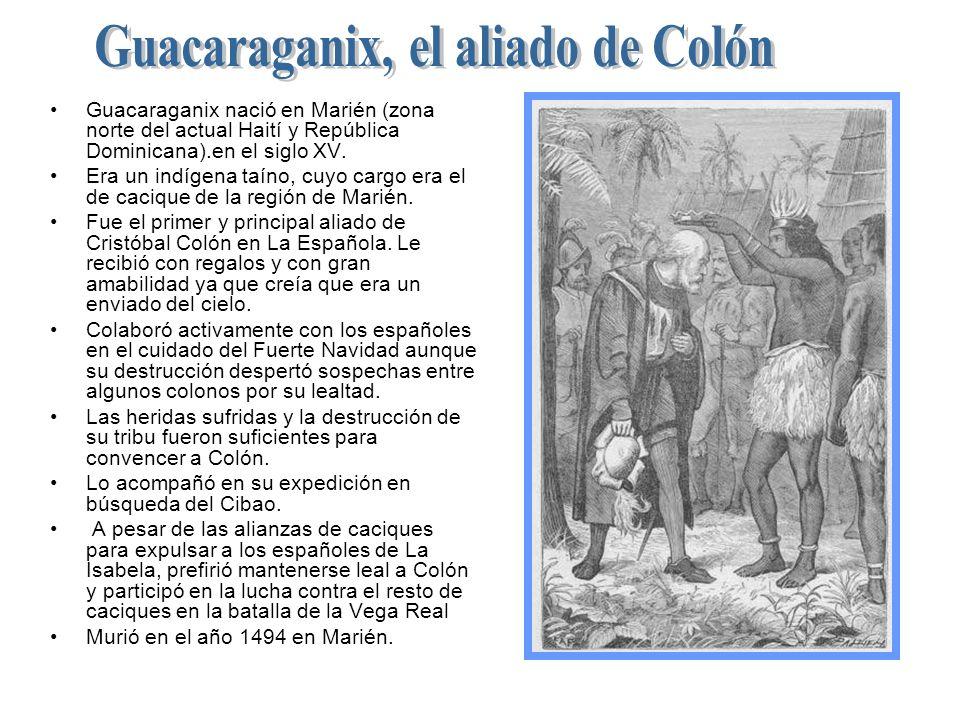 Guacaraganix, el aliado de Colón