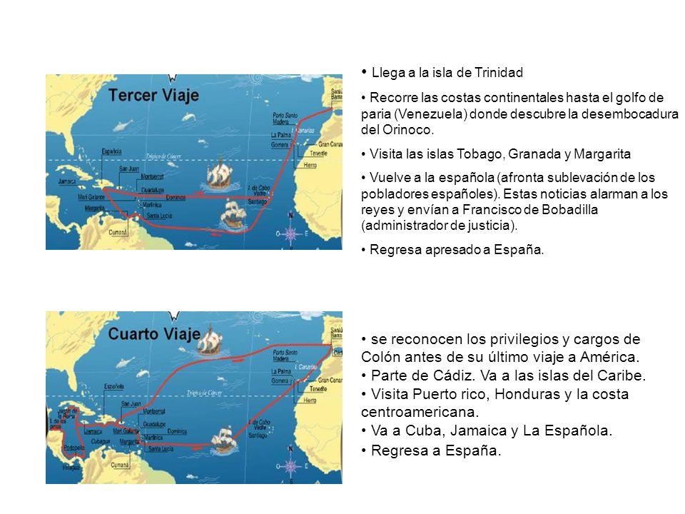 Llega a la isla de Trinidad