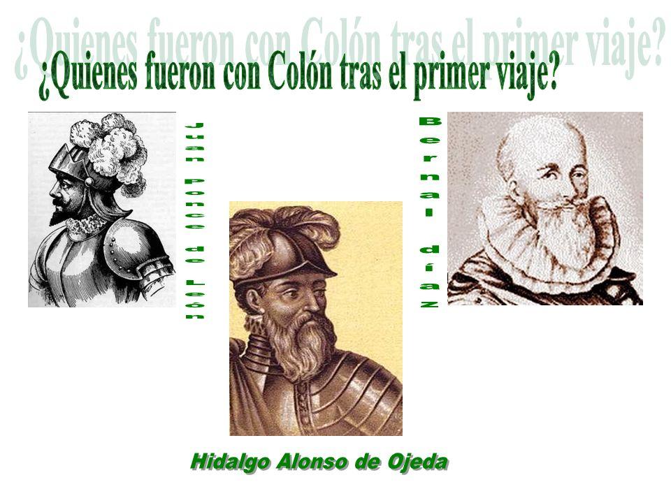 ¿Quienes fueron con Colón tras el primer viaje