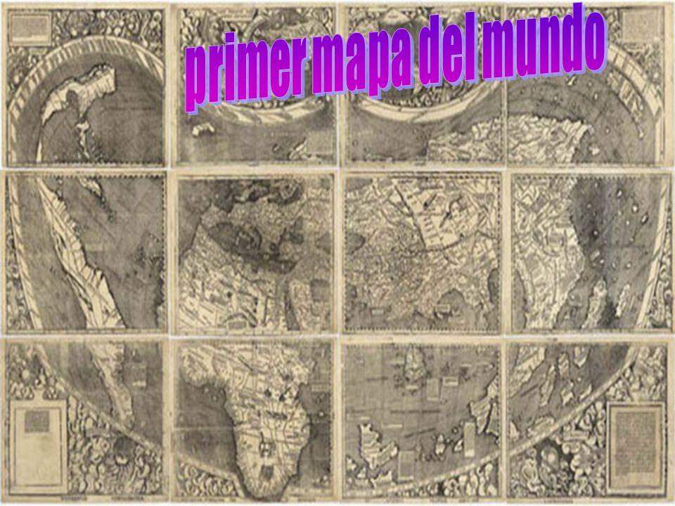 primer mapa del mundo