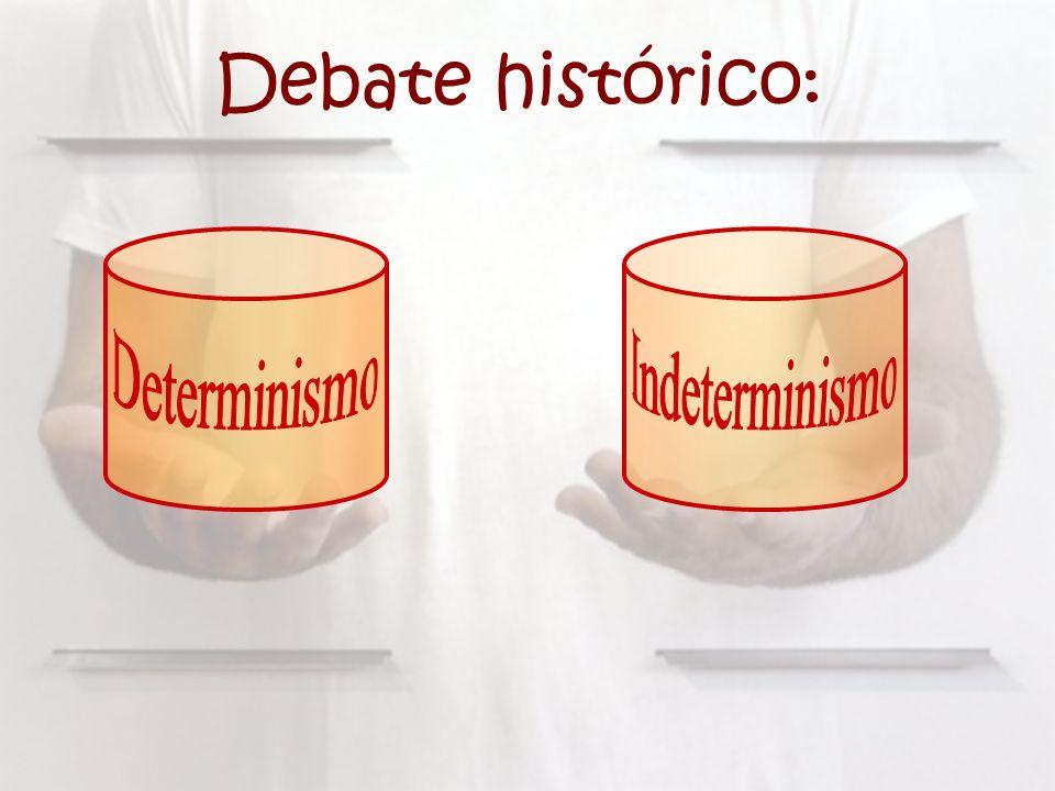 Debate histórico: Determinismo Indeterminismo
