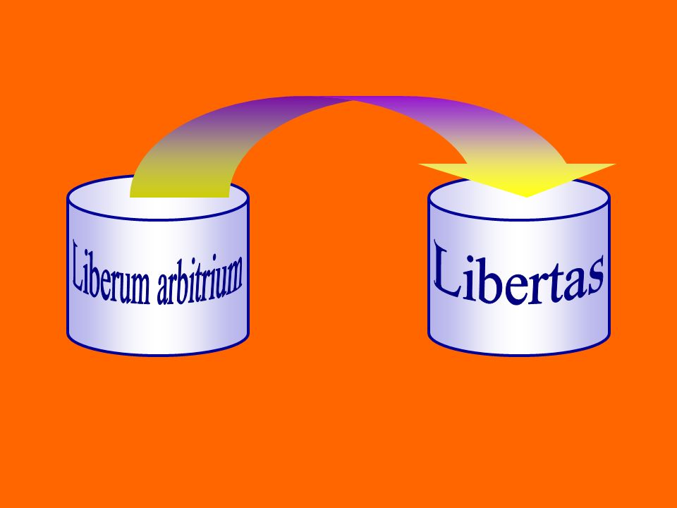Liberum arbitrium Libertas