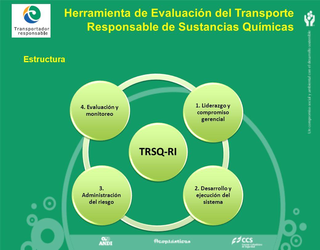 Herramienta de Evaluación del Transporte Responsable de Sustancias Químicas