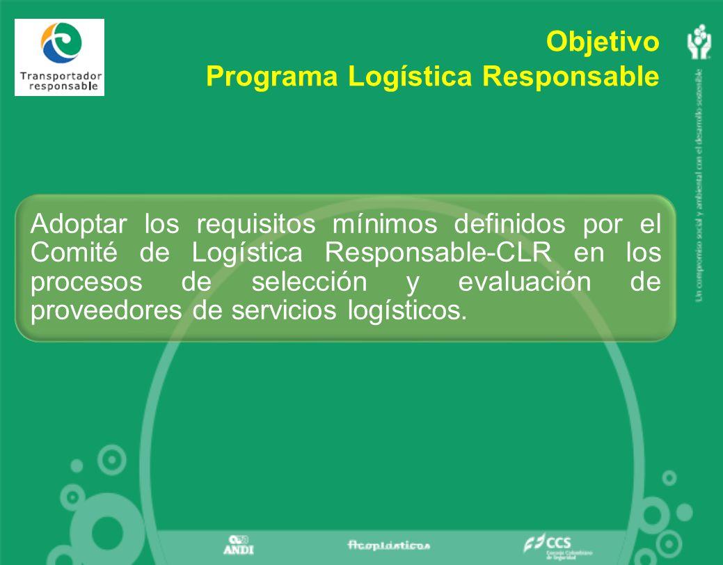 Programa Logística Responsable