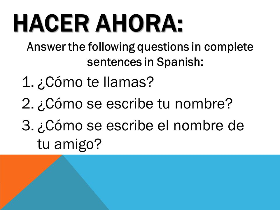 how to answer como estas in a complete sentence