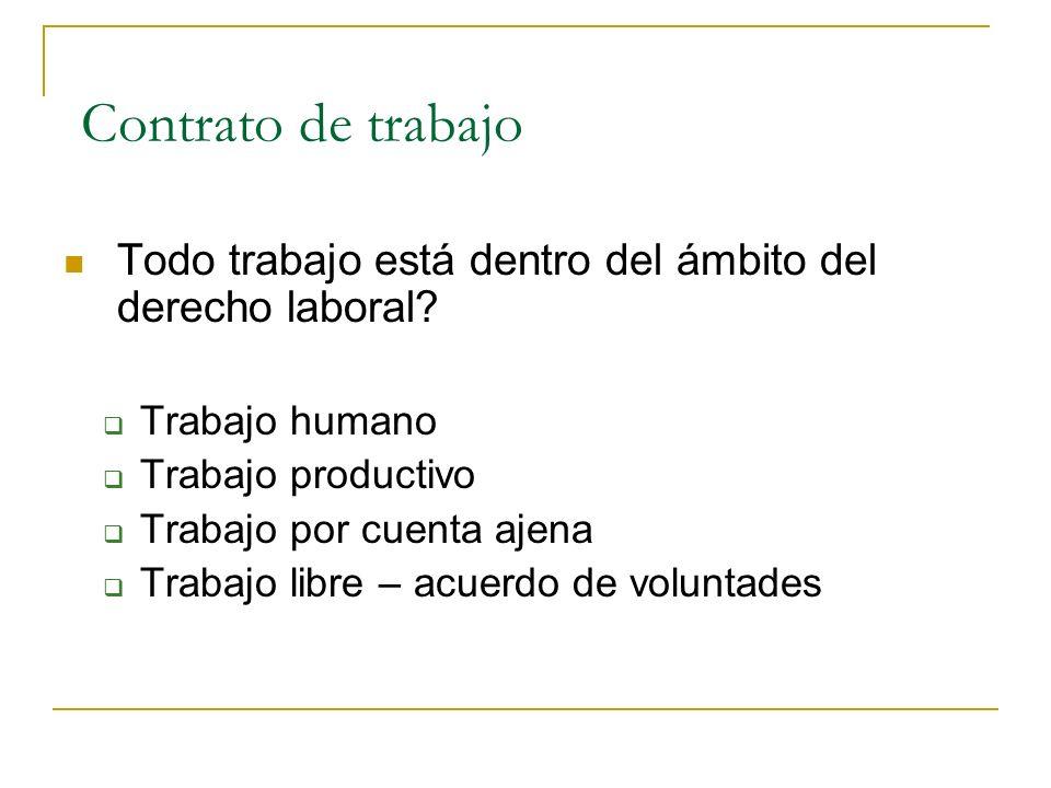 Diplomado recursos humanos para la administracion publica Contrato laboral de trabajo