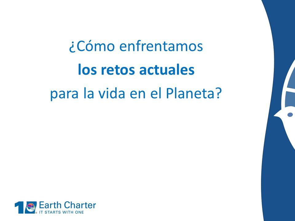La Carta De La Tierra RED JUVENIL - ppt descargar