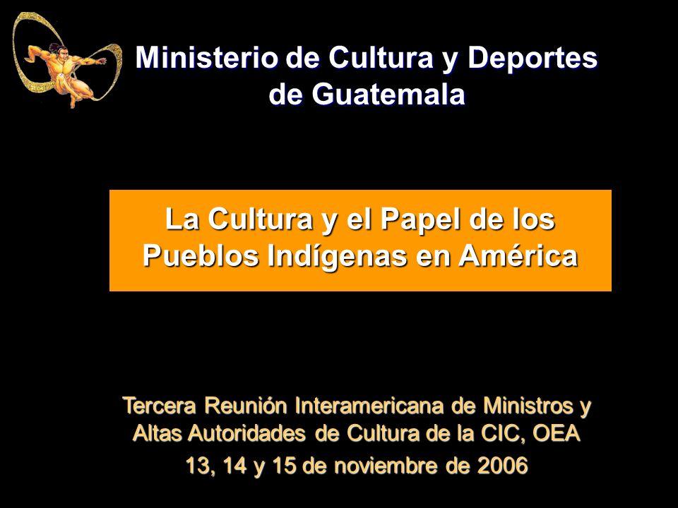 Ministerio De Cultura Y Deportes De Guatemala Ppt Descargar