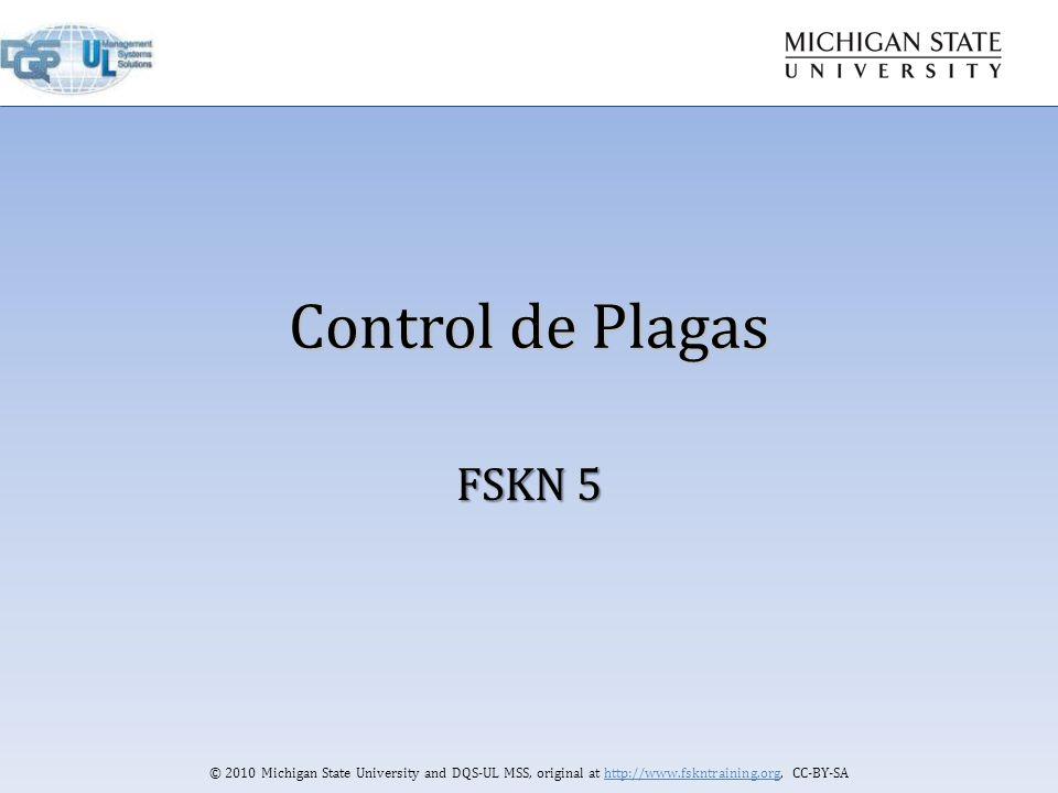 Control de plagas fskn ppt descargar for Control de plagas badajoz