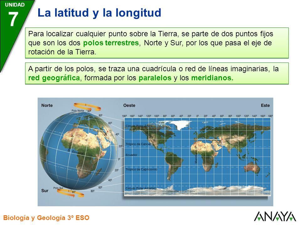 7 La latitud y la longitud