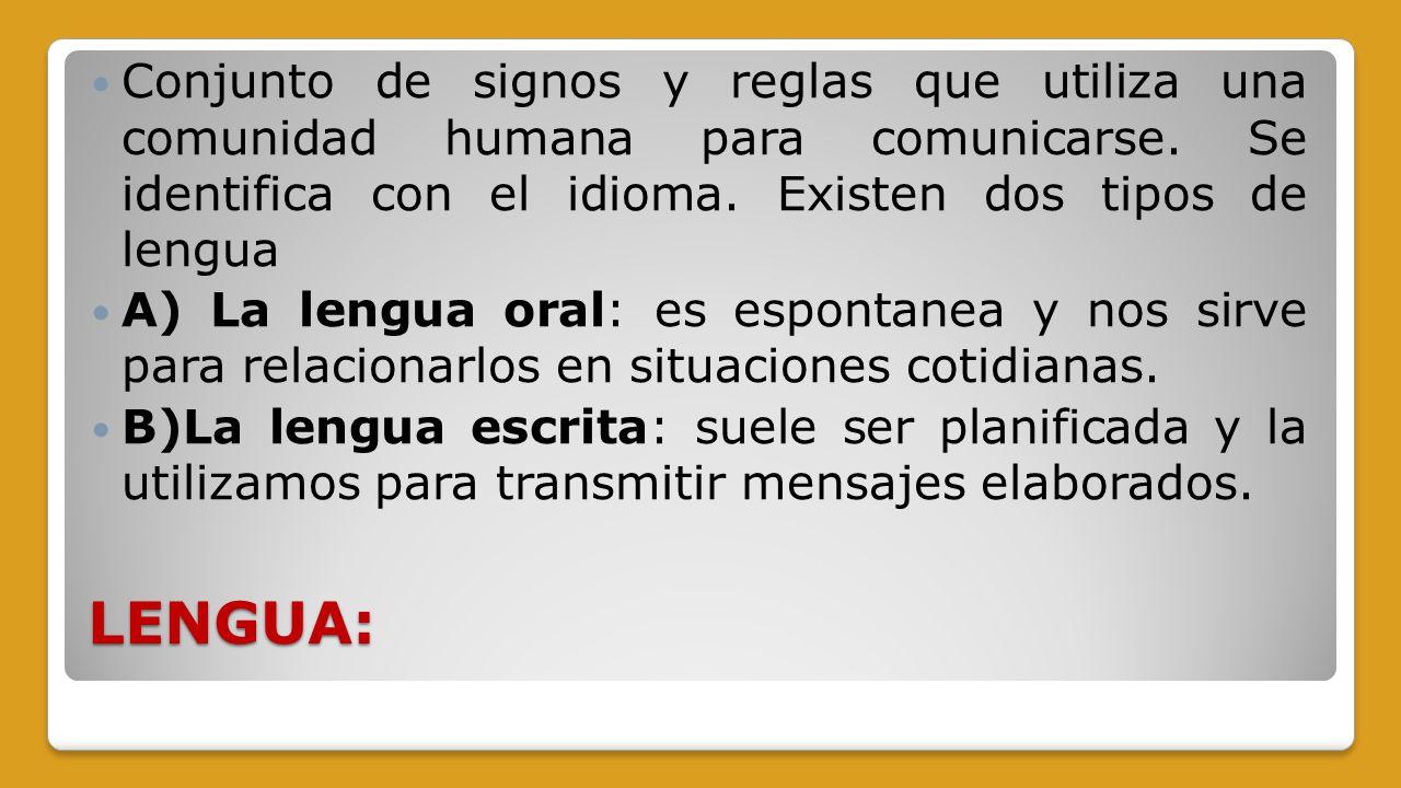 Comunicaci n expresi n lenguaje funciones lengua for En que se utiliza el marmol
