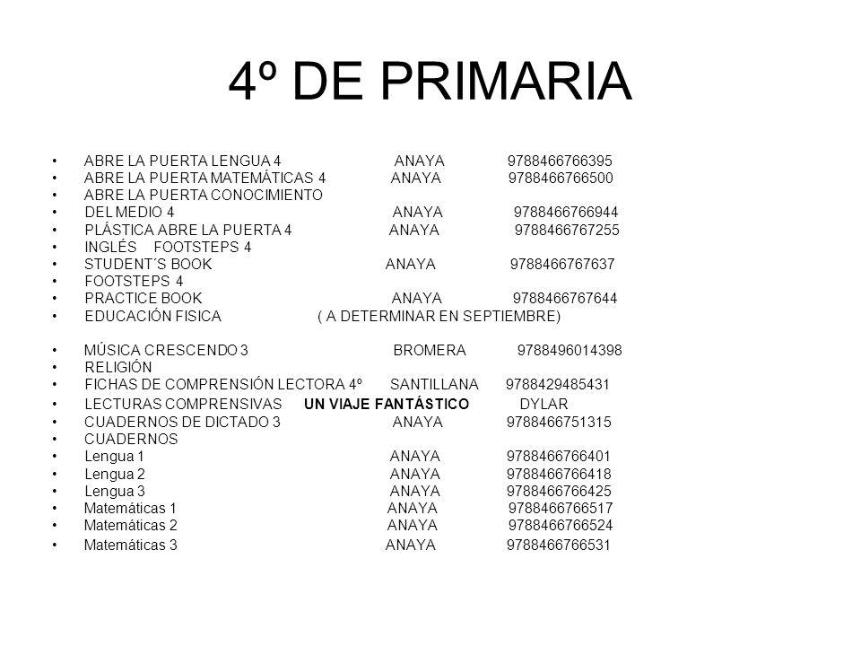 Best Anaya Cuarto De Primaria Lengua Photos - Casas: Ideas & diseños ...