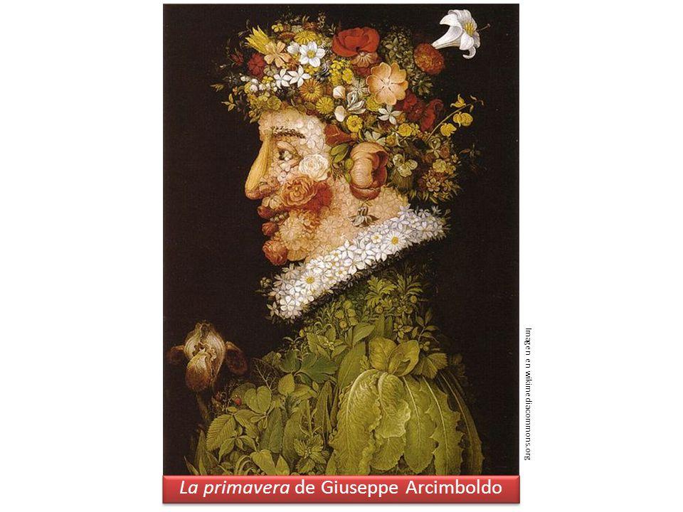 La primavera de Giuseppe Arcimboldo