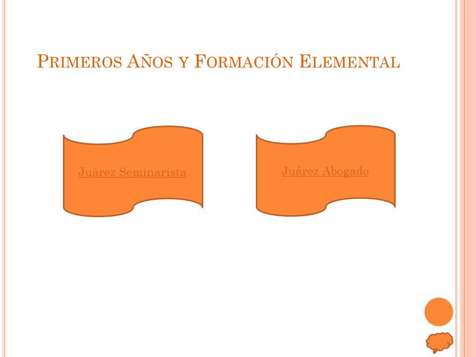 Primeros Años y Formación Elemental