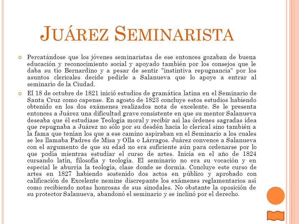 Juárez Seminarista