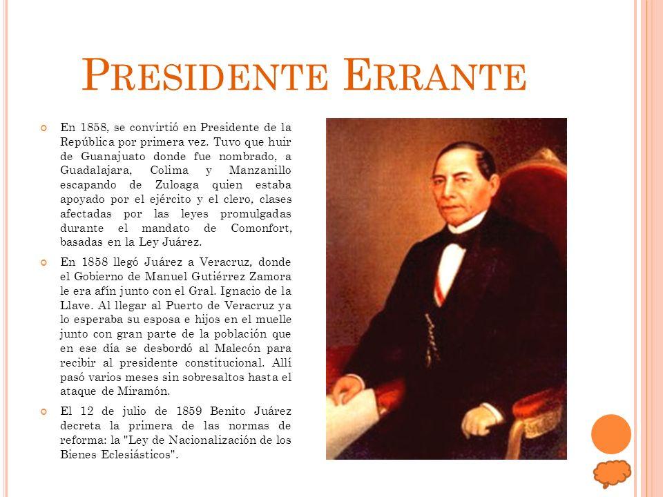 Presidente Errante