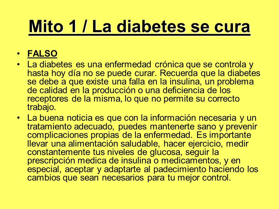 30 MITOS ACERCA DE LA DIABETES - ppt descargar