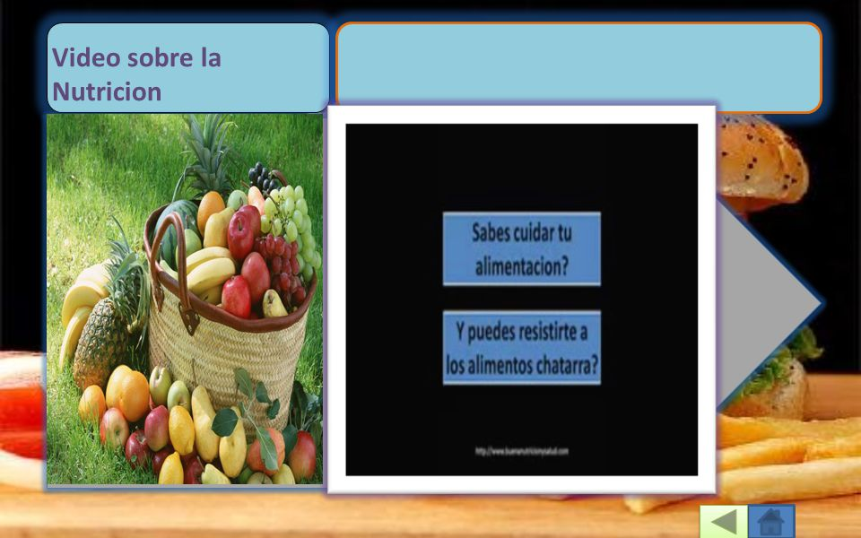 Video sobre la Nutricion