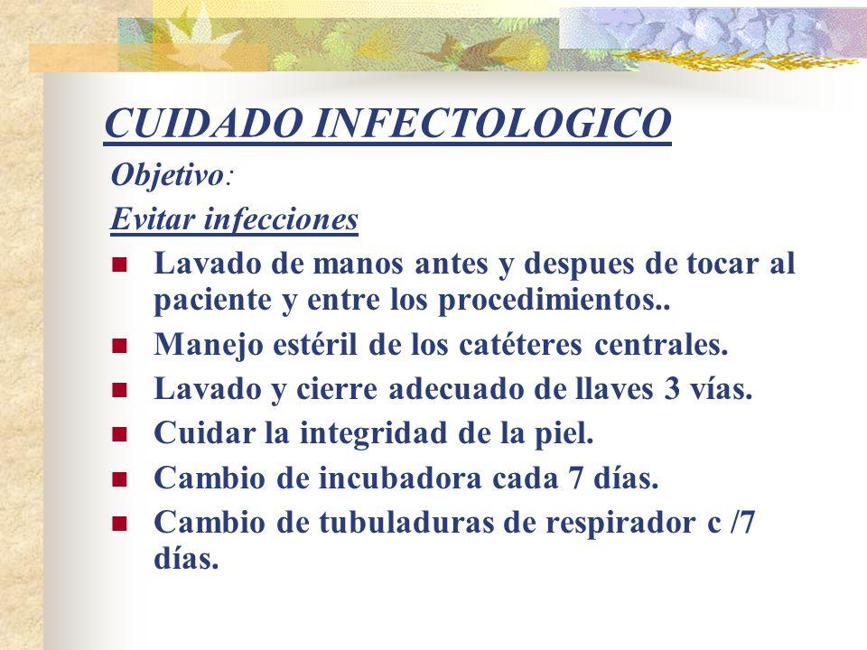 CUIDADO INFECTOLOGICO