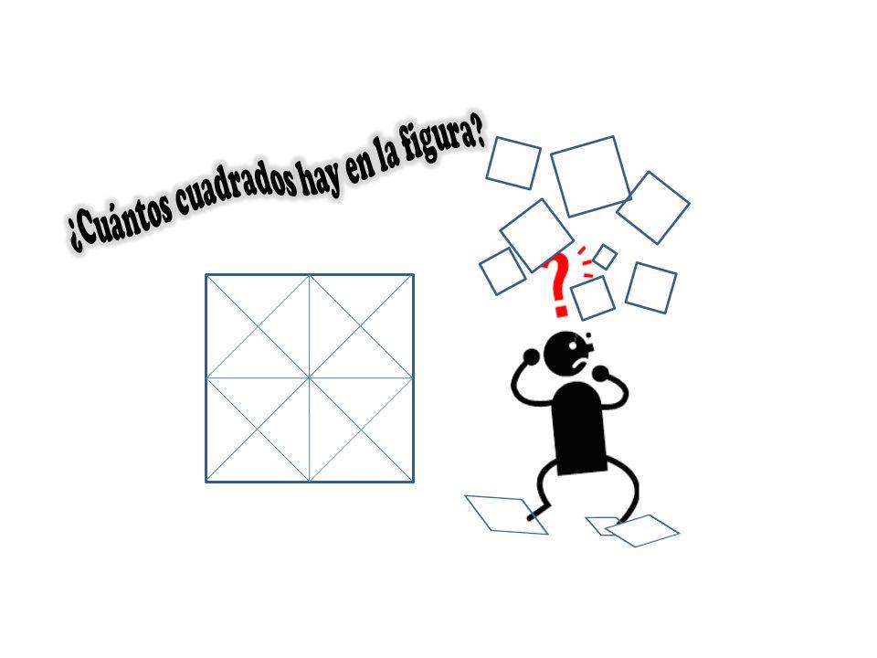¿Cuántos cuadrados hay en la figura
