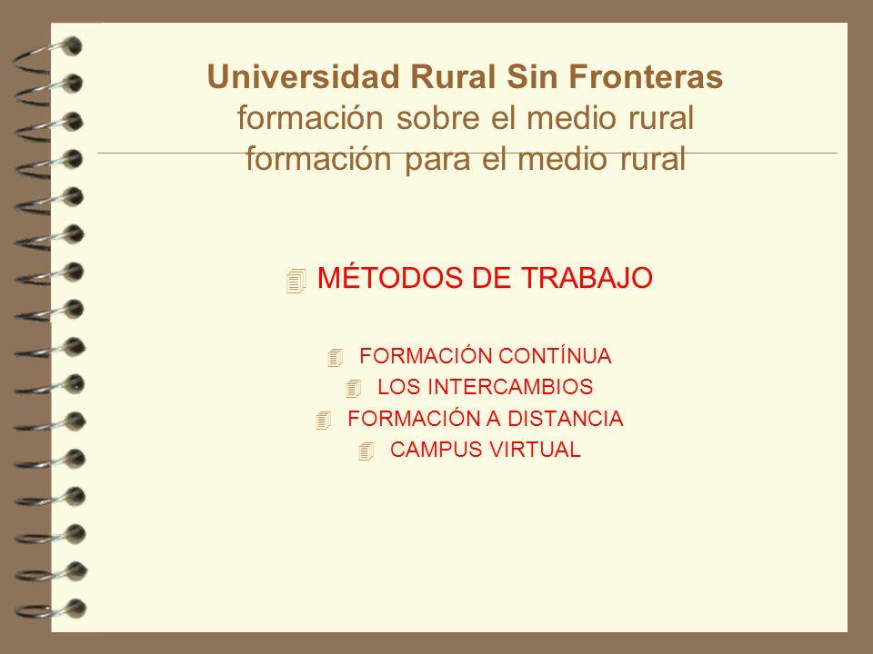 Universidad rural sin fronteras su raz n de ser ppt for Oficina virtual medio rural