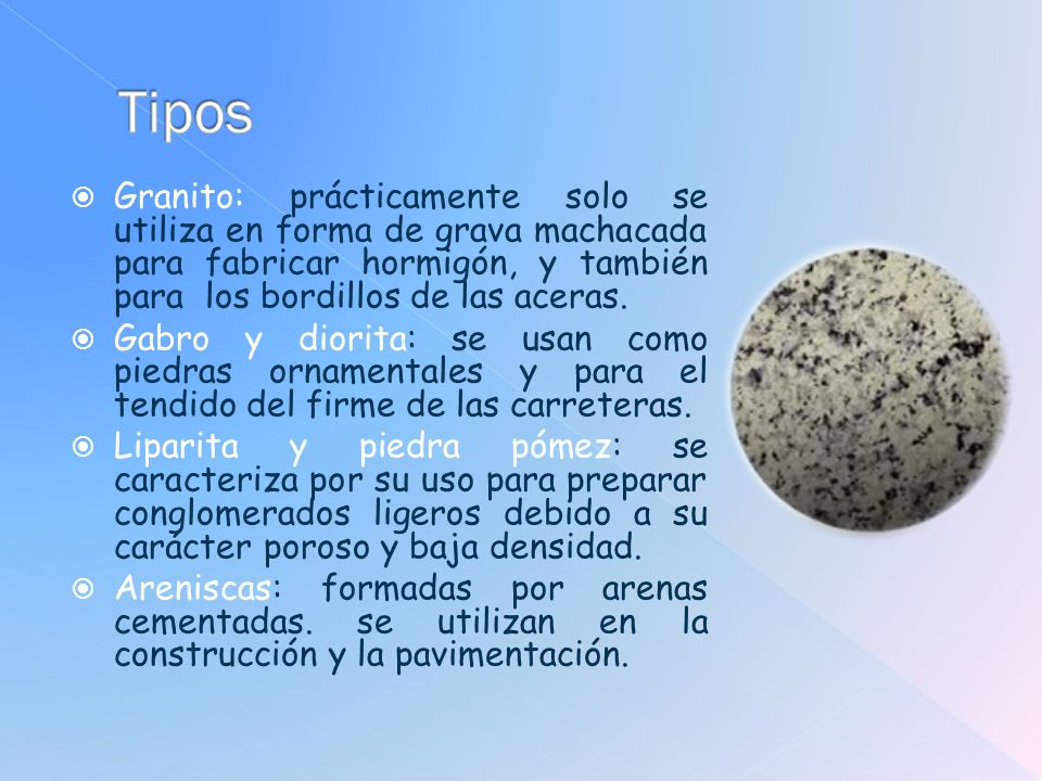 Materiales de construcci n ppt video online descargar for Densidad del marmol