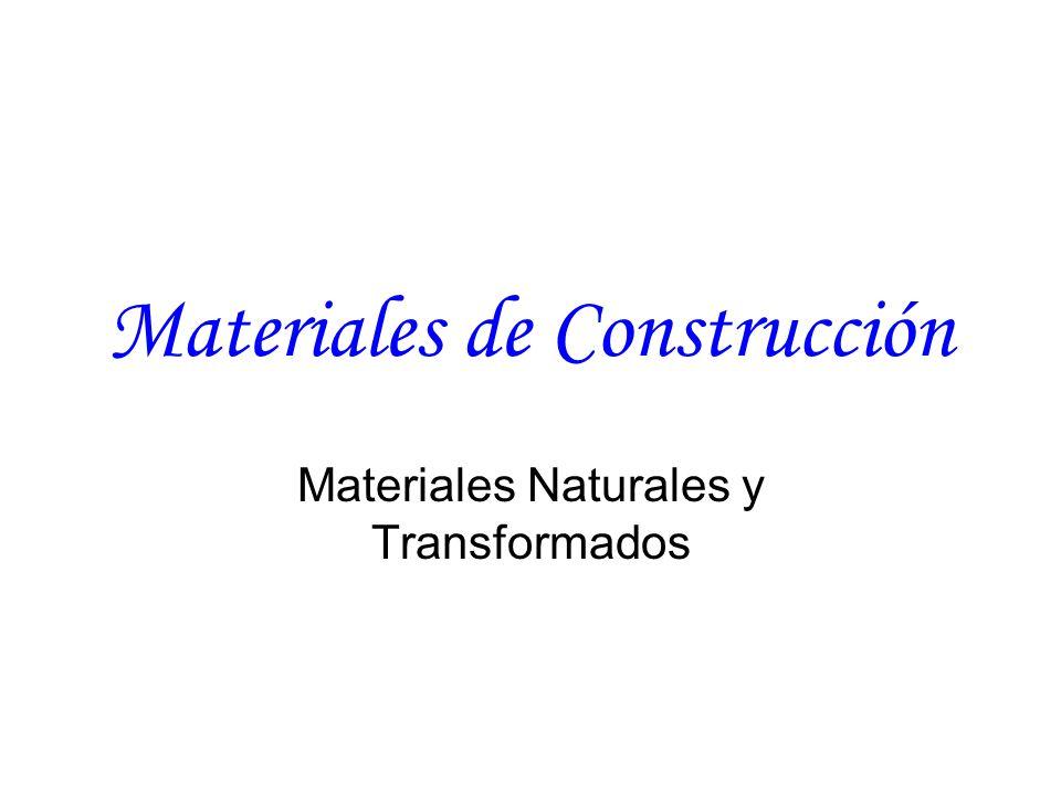 Materiales de construcci n ppt video online descargar - Materiales de construccion on line ...