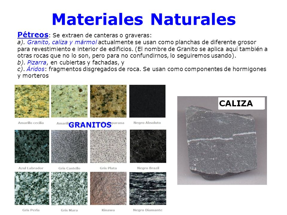 Materiales de construcci n ppt video online descargar - Materiales de construccion tarragona ...