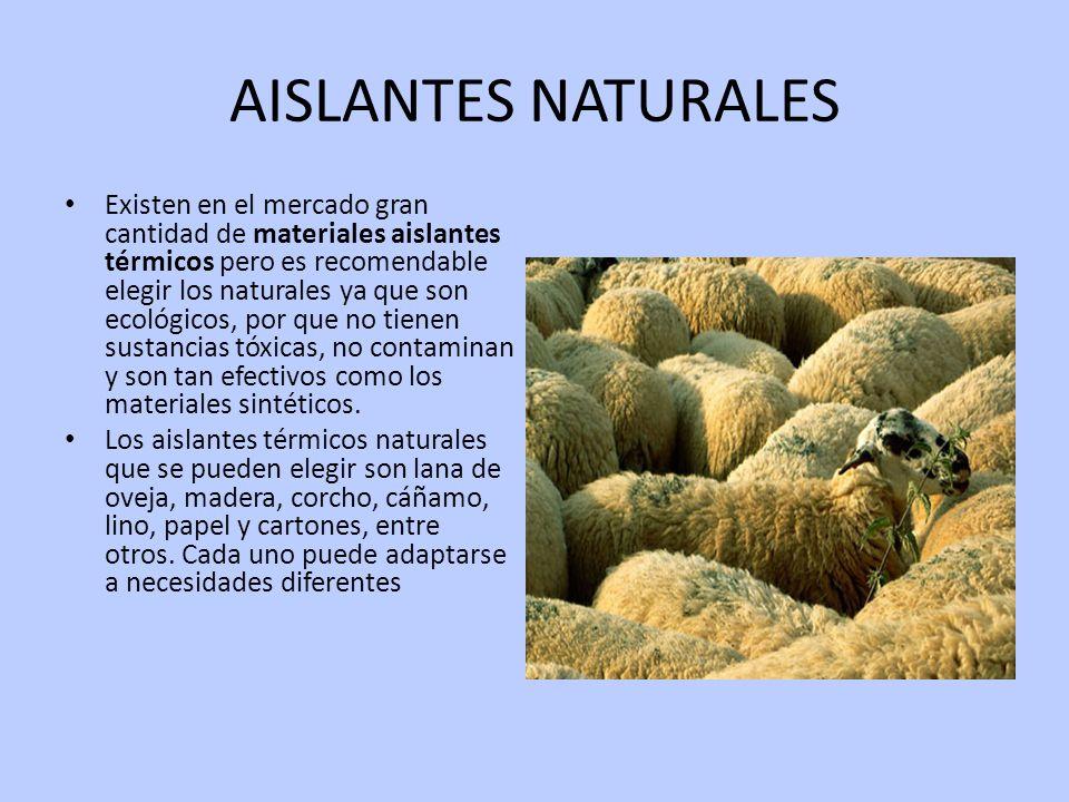Aire acondicionado y aislamientos termicos ppt descargar - Materiales aislantes termicos ...