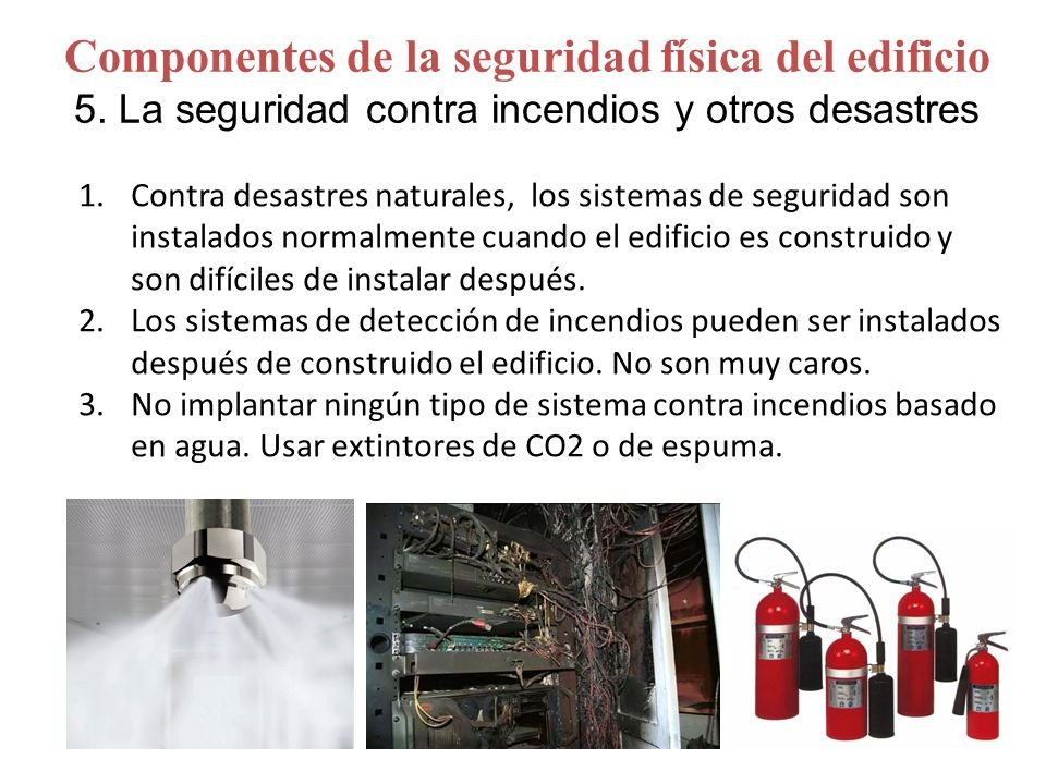 Sistemas de seguridad contra incendios sistema de - Sistemas de seguridad contra incendios ...