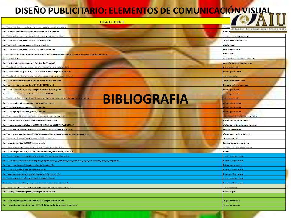 Elementos de comunicaci n ppt descargar for Diseno publicitario pdf