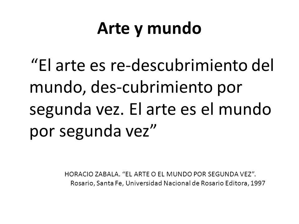 """UNIDAD III """"ENTRE"""" """"LA OBRA DE ARTE ES UNA HUELLA VISIBLE DE ..."""