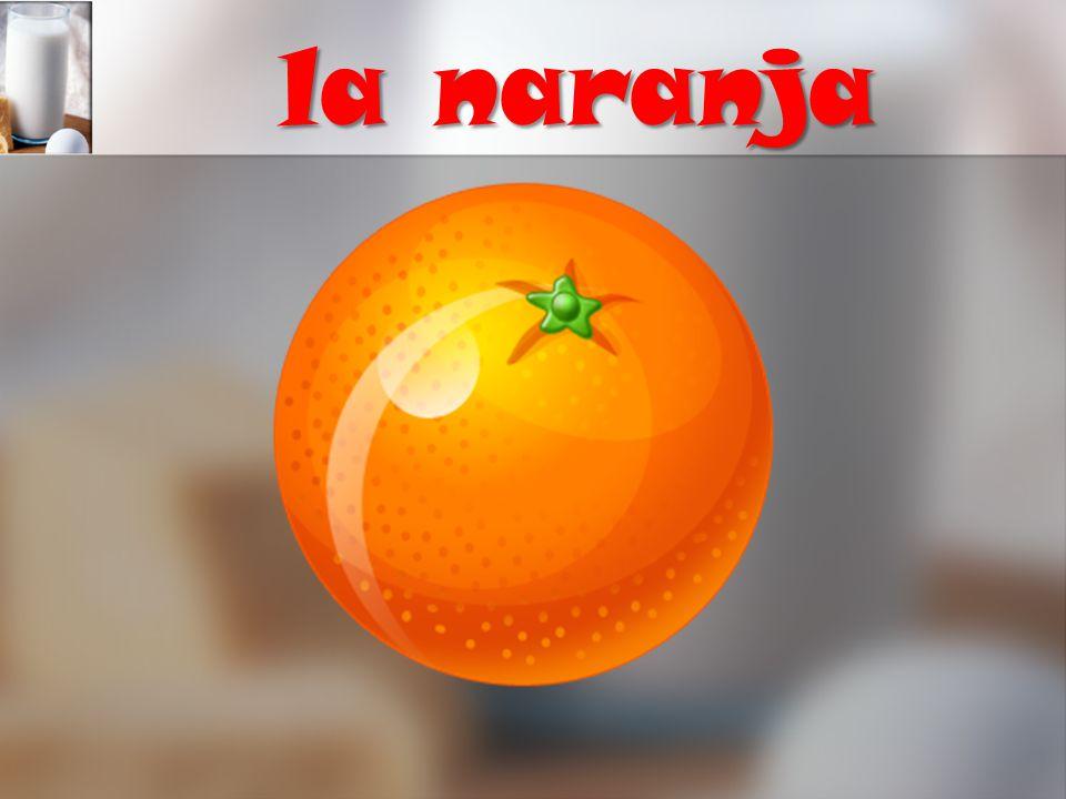 la naranja