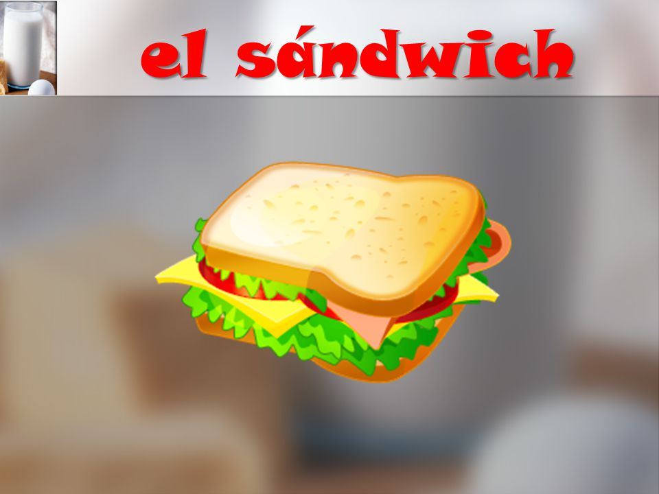 el sándwich