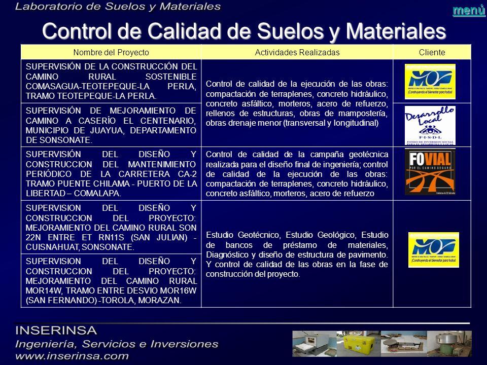 Laboratorio de suelos y materiales ppt descargar - Materiales para suelos ...