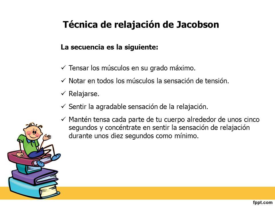 Técnica de relajación de Jacobson