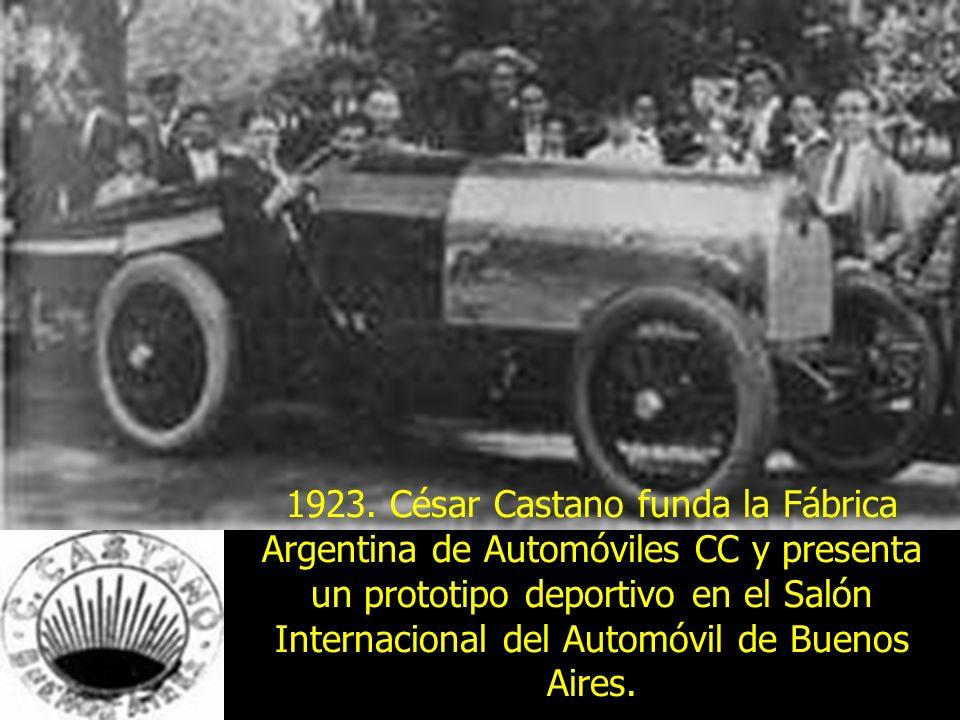 Hitos del automovil en argentina ppt descargar for Fabrica de sillones modernos en buenos aires