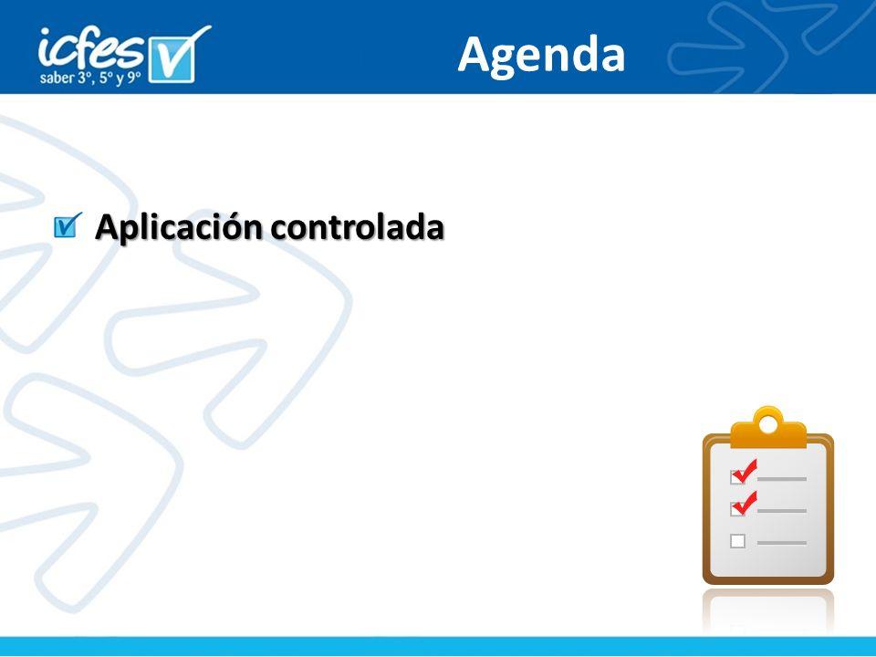 Agenda Aplicación controlada