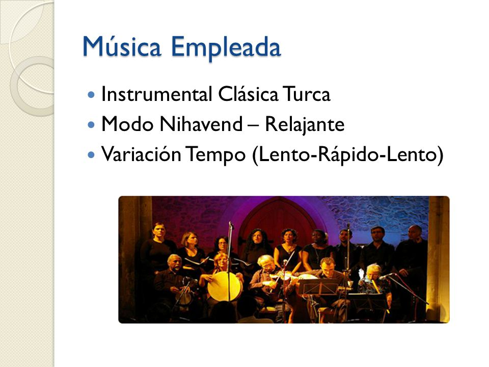 Música Empleada Instrumental Clásica Turca Modo Nihavend – Relajante