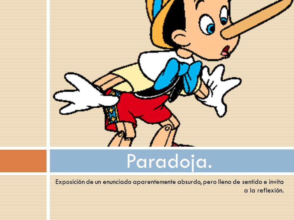 Paradoja.